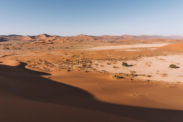 Sossusvlei Namibia Big Daddy Namib Sandmeer