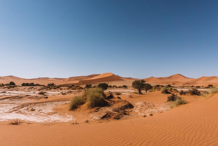 Sossusvlei Namibia Sandmeer