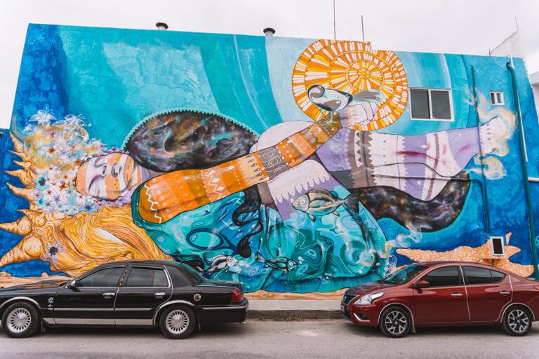Streetart Tulum Mexiko