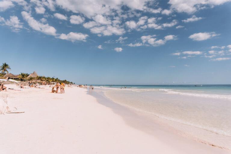 Tulum Mexiko Paradise Beach