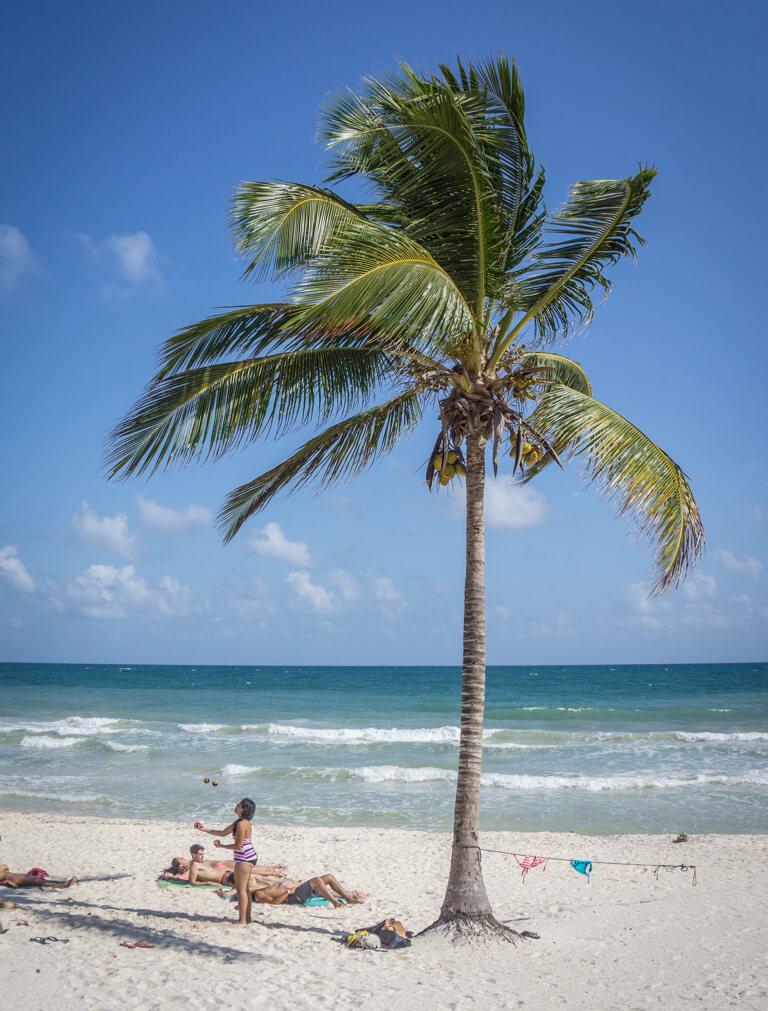 Tulum Mexiko Strand Punta Allen Sian Kaan Nationalpark
