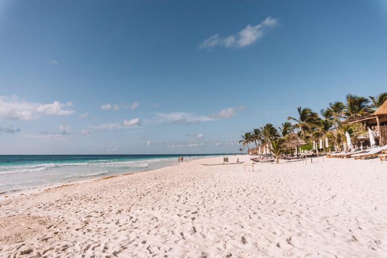 Tulum Mexiko Strand