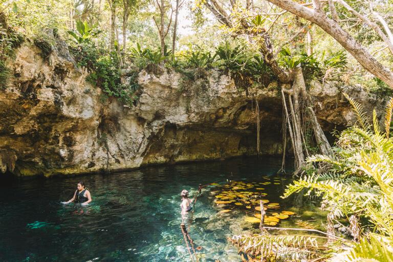 Tulum Sehenswuerdigkeiten Gran Cenote