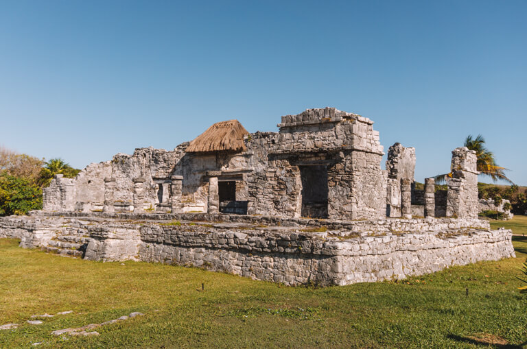 Tulum Sehenswuerdigkeiten Maya Staette Ruinen
