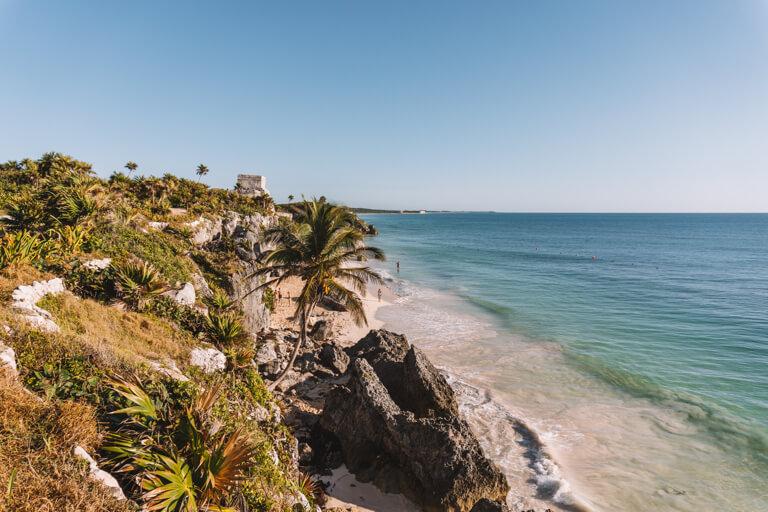 Tulum Sehenswuerdigkeiten Nationalpark Maya Staette