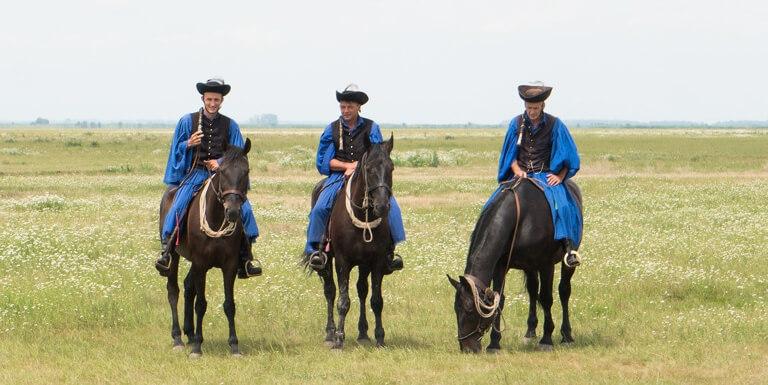 Ungarn Puszta Hortobagyi Nationalpark Reitkunst