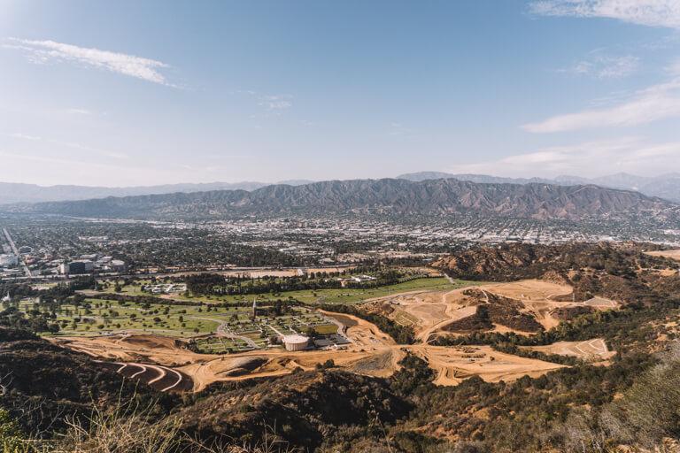 Aussicht Mount Lee LA