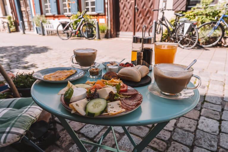 Cafe Estefania Fruehstueck