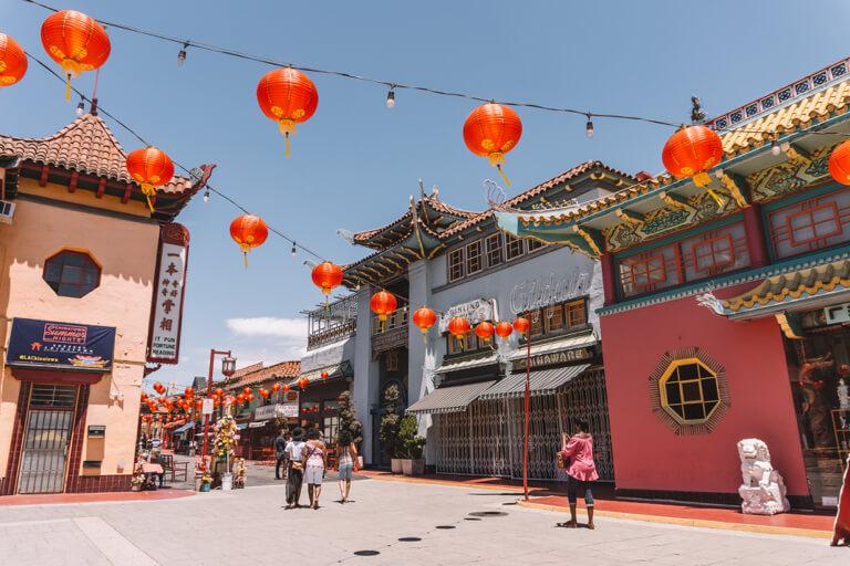 Chinatown LA Lampions