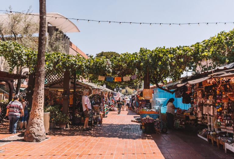 El Pueblo de Los Angeles Olvera Street Markt