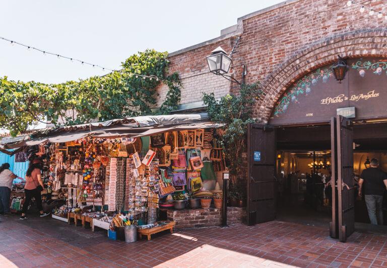 El Pueblo de Los Angeles Olvera Street Mexiko Markt
