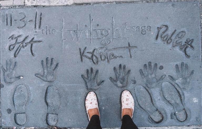 Hollywood Walk of Fame Twilight Saga