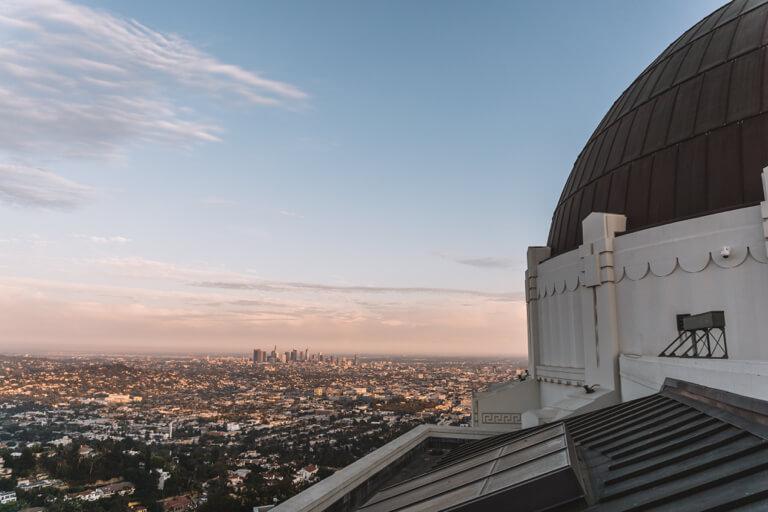 Los Angeles Sehenswuerdigkeiten Griffith Observatorium Planetarium