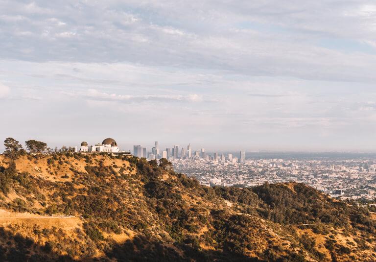 Los Angeles Sehenswuerdigkeiten Griffith Observatorium