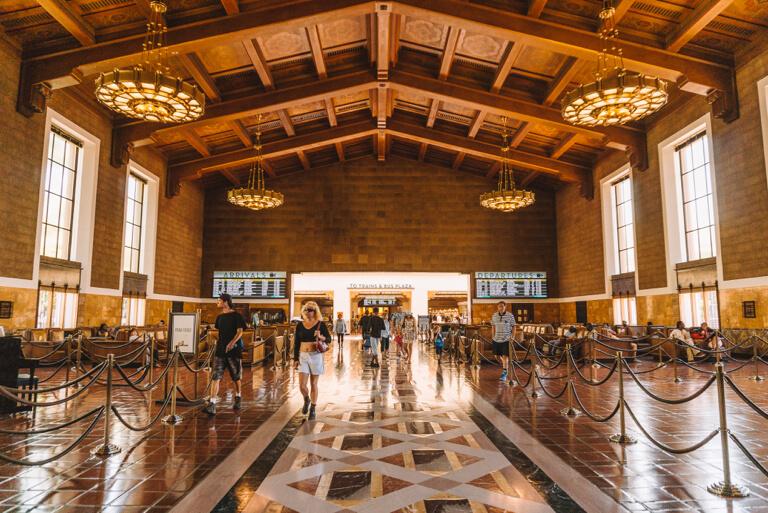 Los Angeles Sehenswuerdigkeiten Union Station