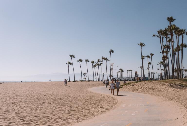 Los Angeles Sehenswuerdigkeiten Venice Beach
