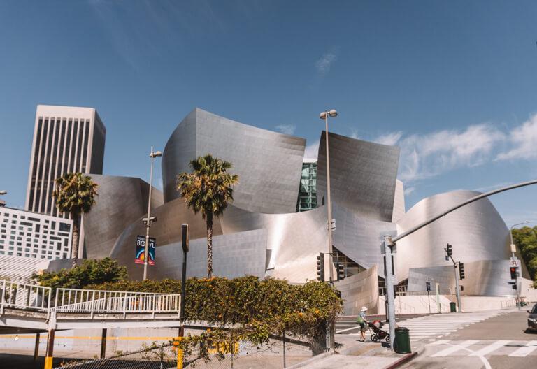 Los Angeles Sehenswuerdigkeiten Walt Disney Concert Hall