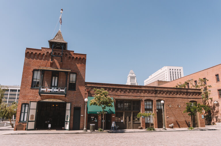 Old Plaza Firehouse Museum LA