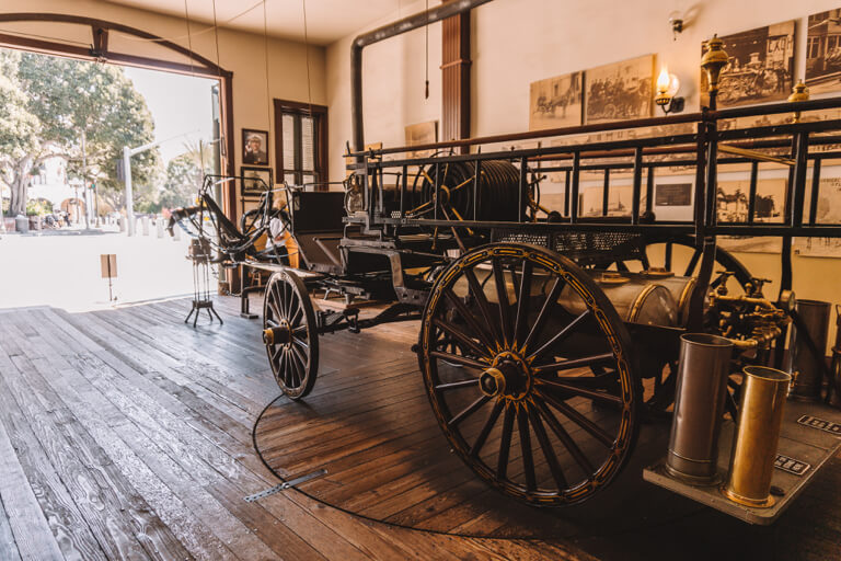 Old Plaza Firehouse Museum Los Angeles