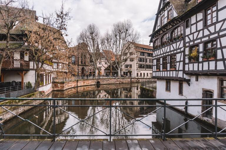 Pont Du Faisan Strassburg Elsass