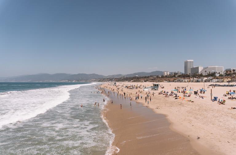 Santa Monica State Beach LA