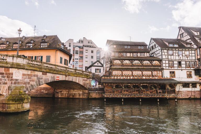 Strassburg Sehenswuerdigkeiten Au Pont Saint Martin La Petite France