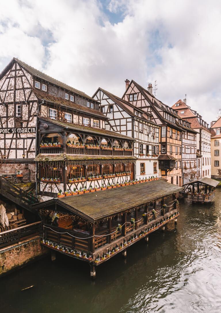 Strassburg Sehenswuerdigkeiten Au Pont Saint Martin
