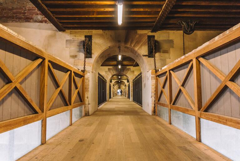 Strassburg Sehenswuerdigkeiten Barrage Vauban Passage