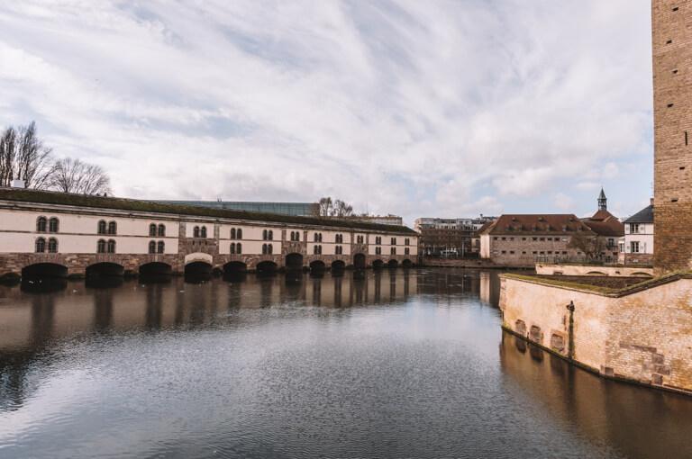 Strassburg Sehenswuerdigkeiten Barrage Vauban