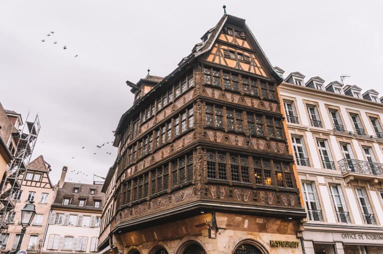 Strassburg Sehenswuerdigkeiten Haus Kammerzell