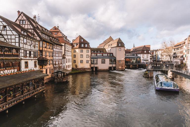 Strassburg Sehenswuerdigkeiten La Petite France