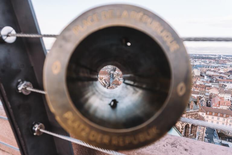 Strassburg Sehenswuerdigkeiten Liebfrauenmuenster Blick Panorama