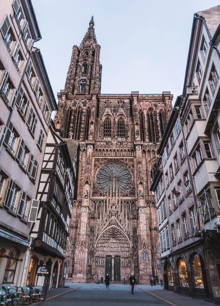 Strassburg Sehenswuerdigkeiten Liebfrauenmuenster