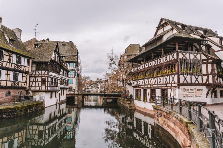 Strassburg Sehenswuerdigkeiten Maison des Tanneurs