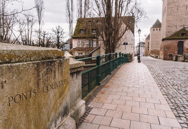 Strassburg Sehenswuerdigkeiten Ponts Couverts