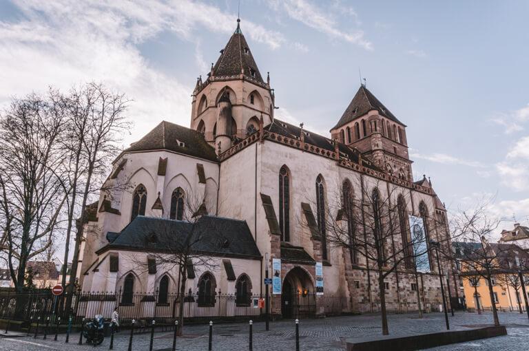 Strassburg Sehenswuerdigkeiten Thomaskirche