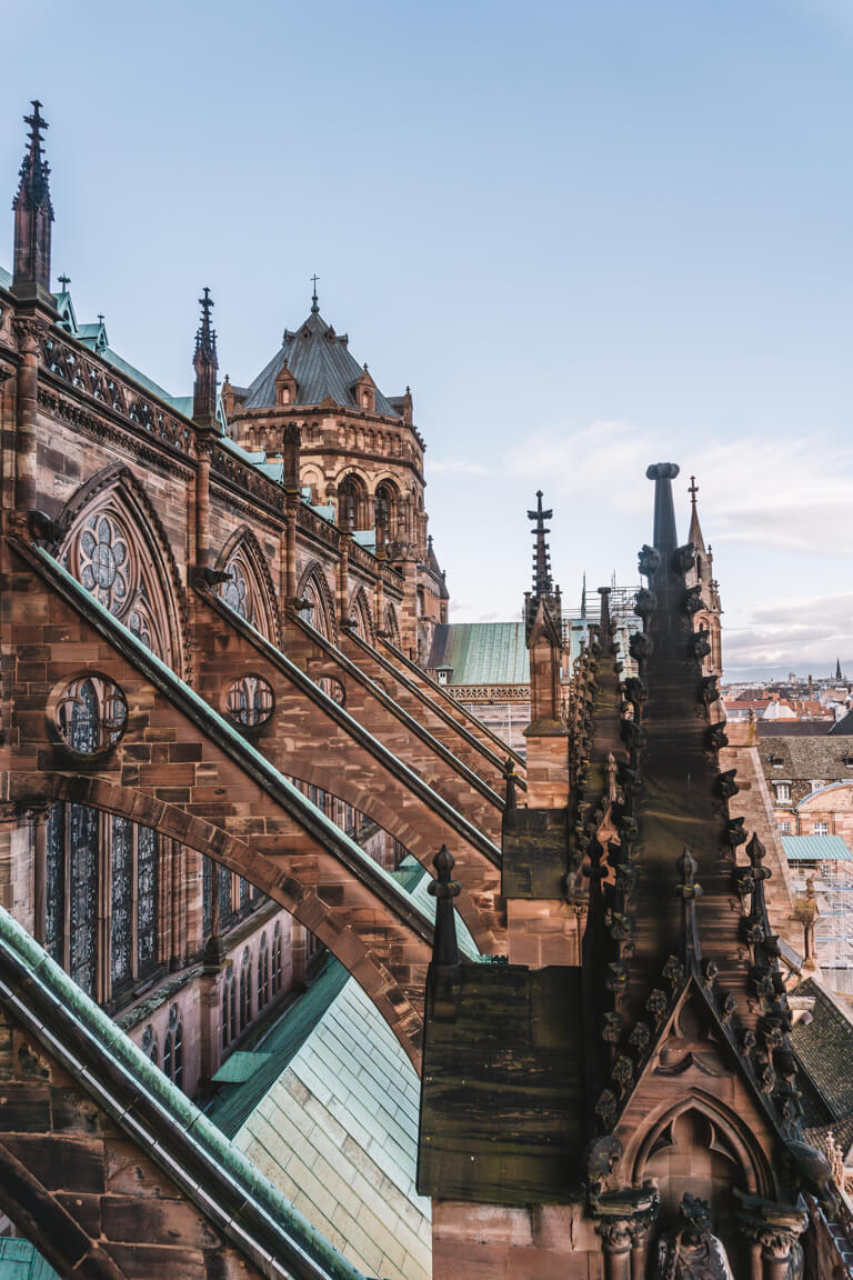 Strassburger Muenster Gotik Elsass Frankreich