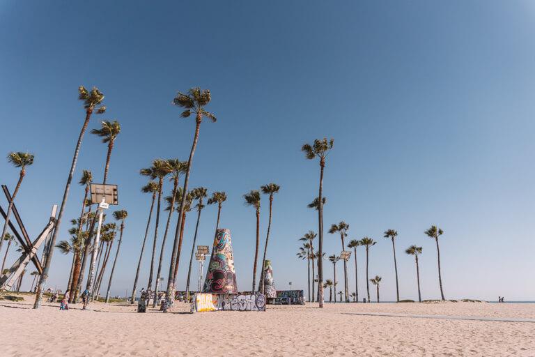 Venice Beach Skate Park LA