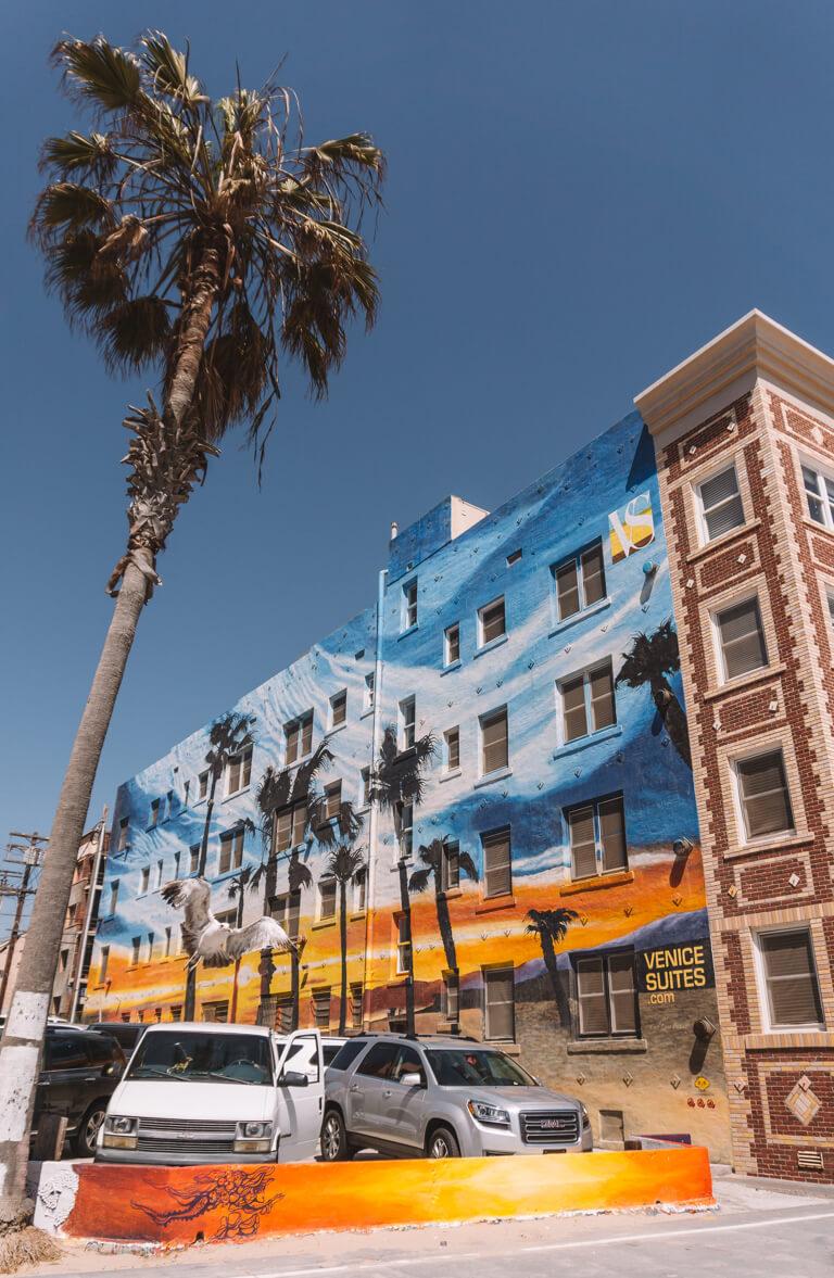 Venice Beach Streetart LA