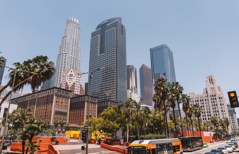 Wolkenkratzer Downtown Los Angeles
