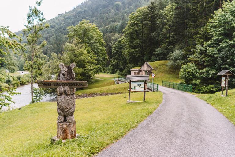 Ausfluege Wien Hoellental erster Wiener Wasserleitungsweg