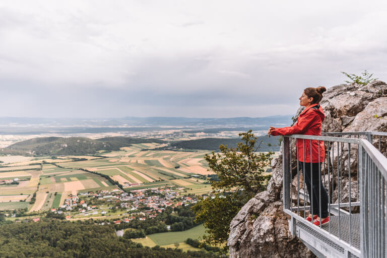 Ausfluege Wien Hohe Wand Felsenpfad