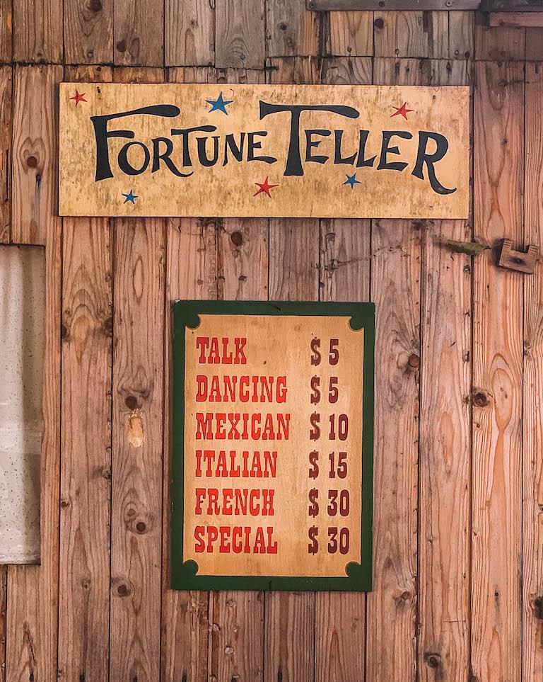 Fortune Teller Cowboy Club
