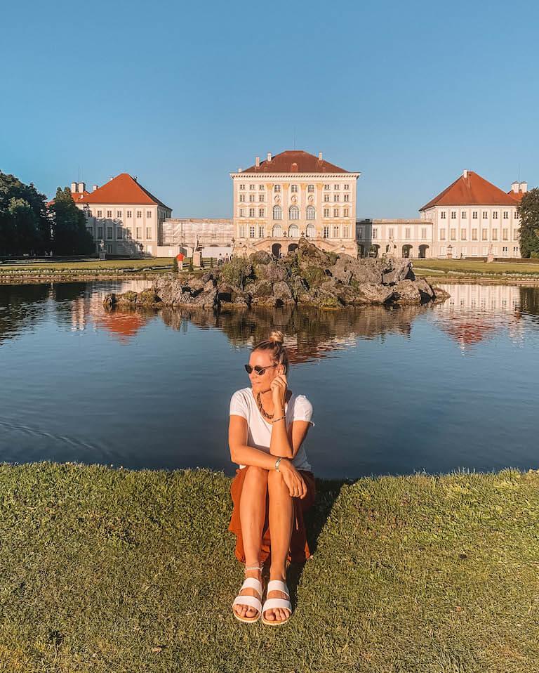 Muenchen Sehenswuerdigkeiten Schloss Nymphenburg Park