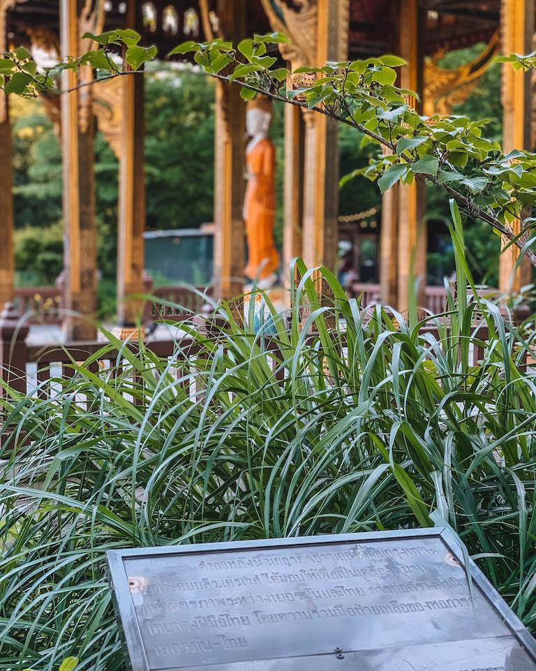 Muenchen Sehenswuerdigkeiten Westpark Buddha