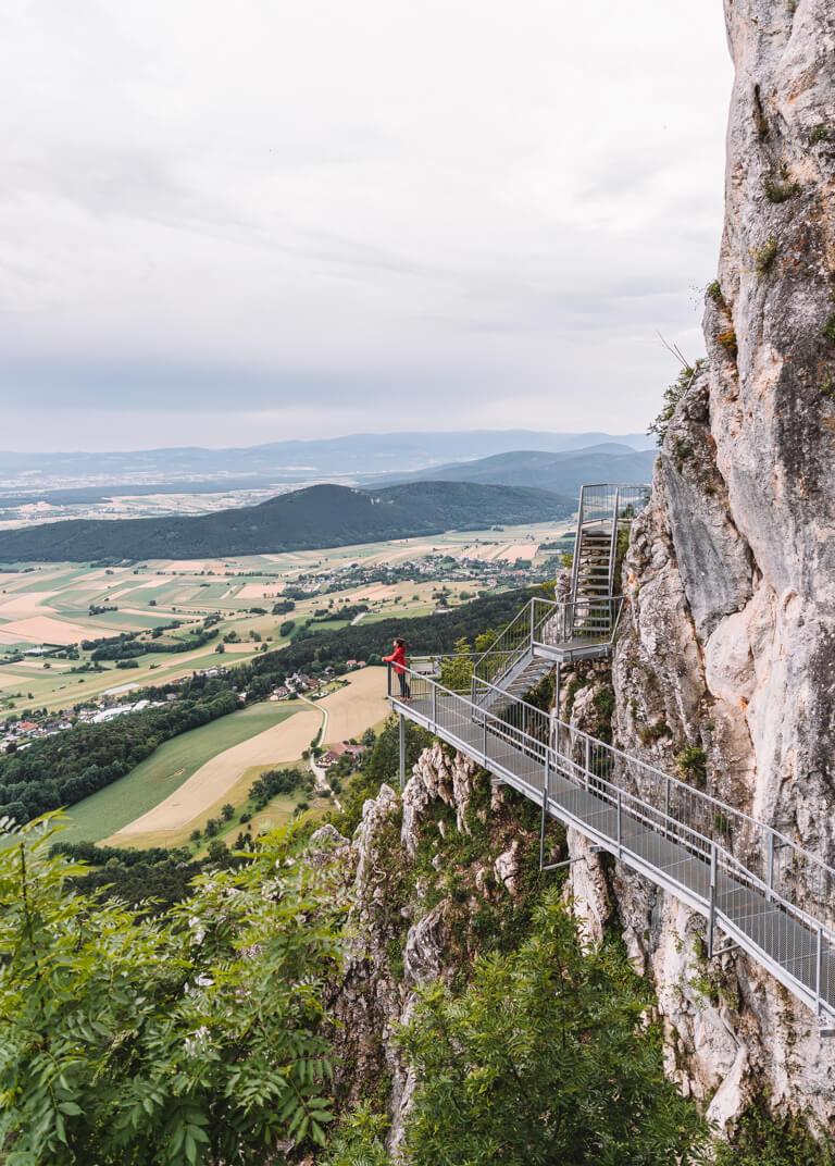 Naturpark Hohe Wand Felsenpfad