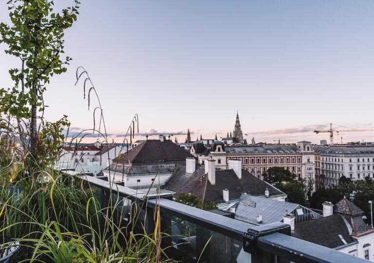 25 Hours Hotel Vienna Dachterrasse