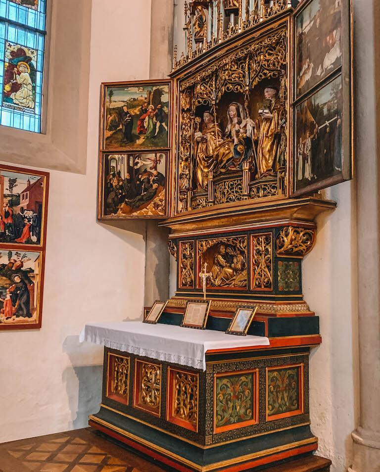Altar Stift Zwettl Niederoesterreich