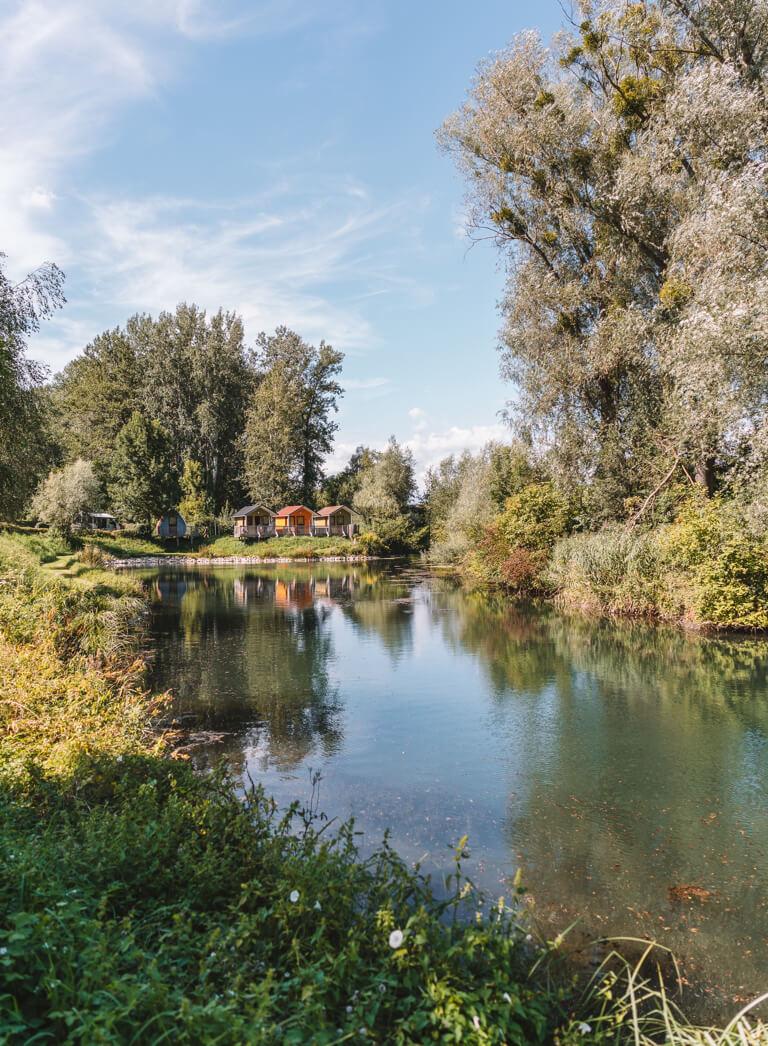 Au an der Donau Camping DonauStandl
