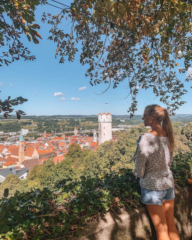 Ausblick Veitsburg Ravensburg